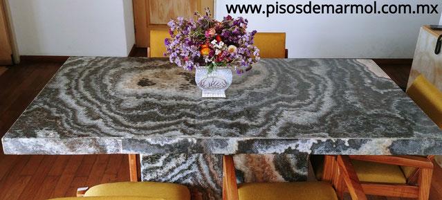 comedor de marmol, precios de comedores de marmol, fabricacion de comedores de marmol, mesas de marmol, comedores de onix, comedores de granito, comedores elegantes