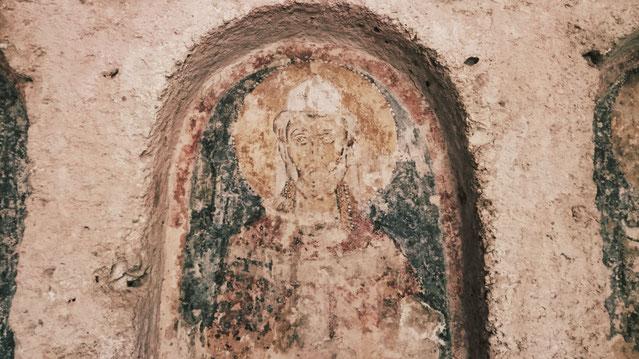 Höhlenkirche in der Lama d`antico