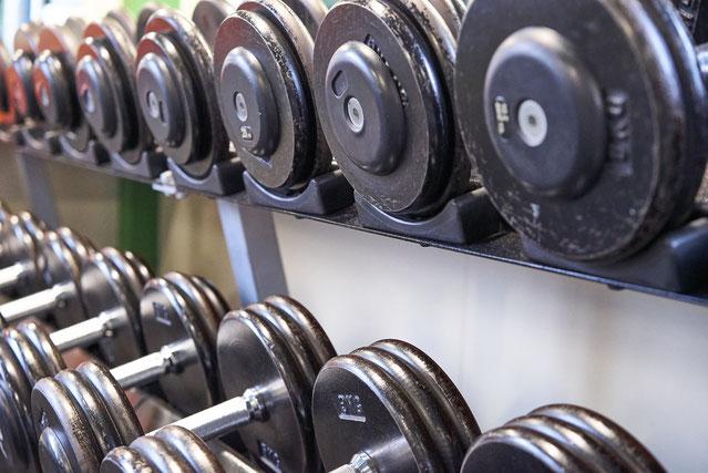 Wähle ein Gewicht, welches zu deinem Leistungsniveau passt.