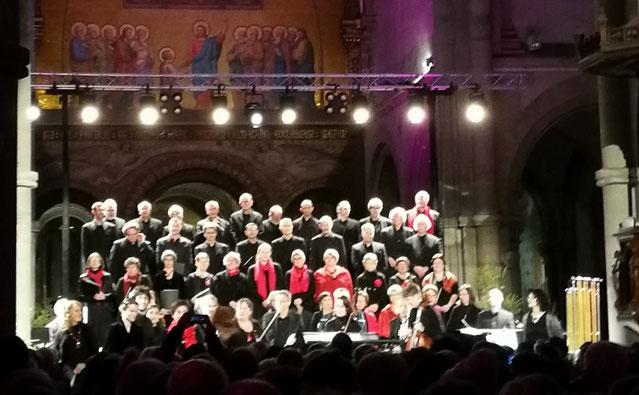 Schola de l'Orne Concert de Noël 2017-Eglise St Pierre de Montsort