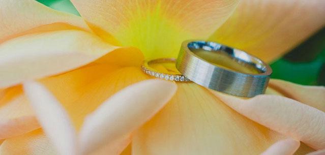 婚約指輪と結婚指輪の兼用