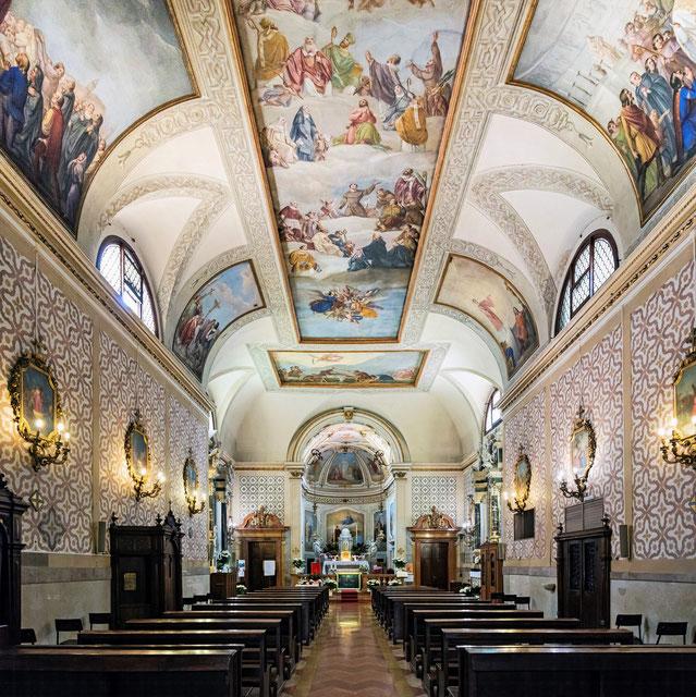 Interno della chiesa di San Daniele in Padova.
