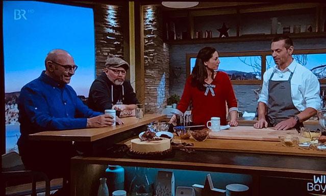 """Auftritt bei """"Wir in Bayern"""" im Bayrischen Fernsehen 04.12.18"""