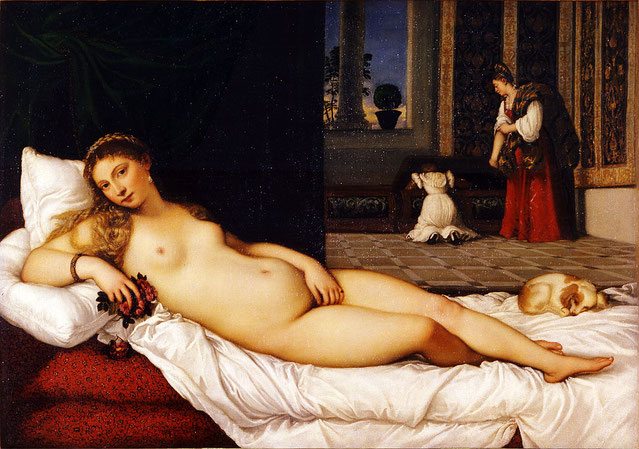 Венера Урбинская - шедевры Уффици