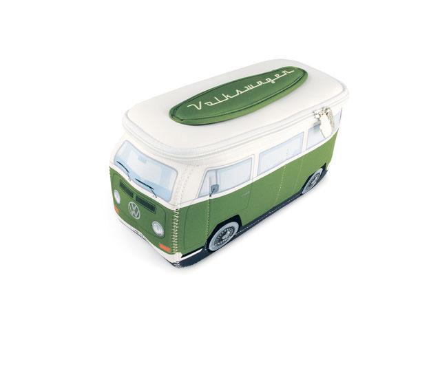 VW T2 Bus 3D Neopren Mäppchen, Reiseapotheke, Kosmetiktasche, Schminktäschchen