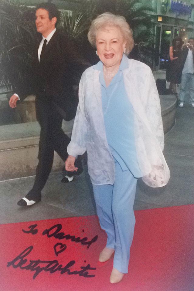 Betty White Autograph
