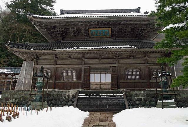 大本山永平寺・冬の仏殿