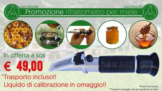 Promozione rifrattometro per miele