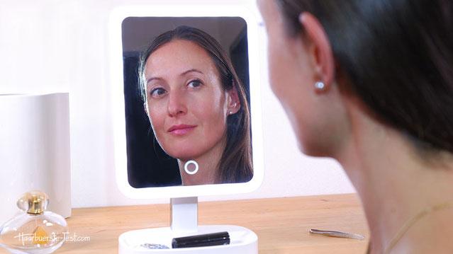 schminkspiegel beleuchtet, kosmetikspiegel testsieger, welcher ist der beste kosmetikspiegel