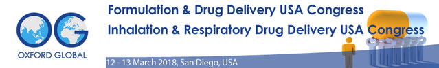 The 2018 Formulation and Drug Delivery USA Congress will take place from 12th to 13th March in San Diego