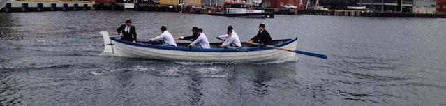 Ruder Wettbewerb in Tromsø Juni 2015