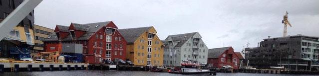 Hafen Häuserreihe Tromsø