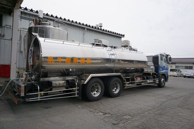 15トンのタンクローリー(当日の写真ではありません)