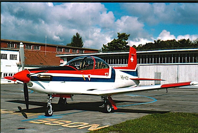 Pilatus PC-7 HB-HQY