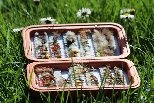 Simms Foam Fly Box for Nymph and Dry Fly Trout and Grayling Flyfishing