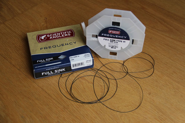Scientific Anglers Frequency Full Sink Fly Line type 4 Wf 5