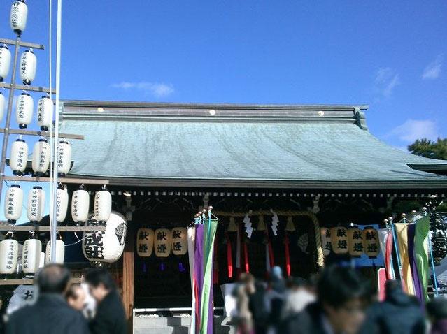 伊勢神社 拝殿