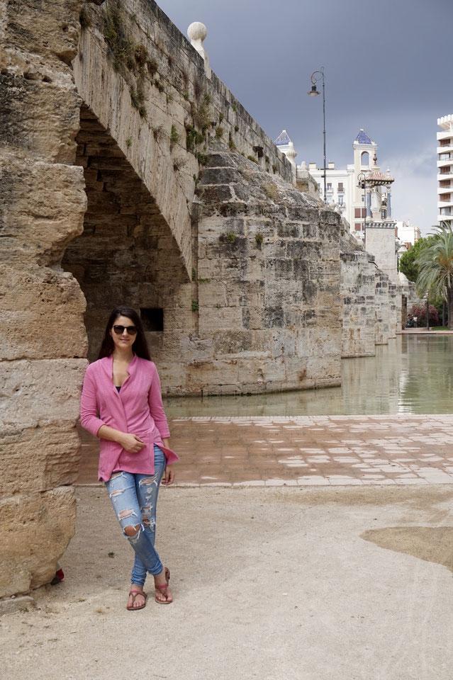 "Spaziergang durch den ""Jardines del Turia"""