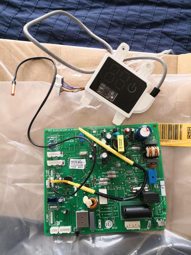 Dépannage carte mère pompe a chaleur B-energie