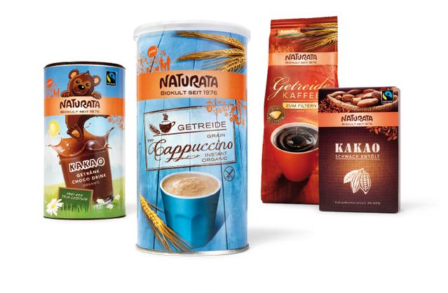NATURATA - Getränke- Kaffee - Kakao - Kinder - Ersatz - Emotionen - Bio - Packaging - Design - DesignKis - 2013 - Verpackung