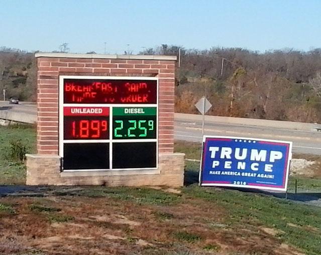 Bild: HDW-USA, Mister T. und der Weiße Büffel, Roadtrip, Amerika, Trump, Pence
