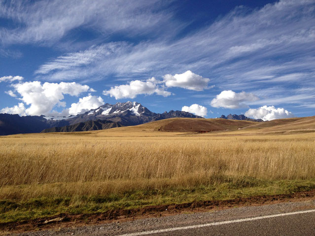 Die Fahrt zwischen Puno und Cusco oder umgekehrt kann man per Bus oder mit dem Zug machen