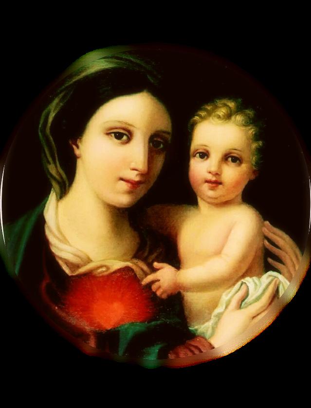 Madonna della Fiducia, immagine ispirata all'icona conservata presso il Seminario Romano Maggiore
