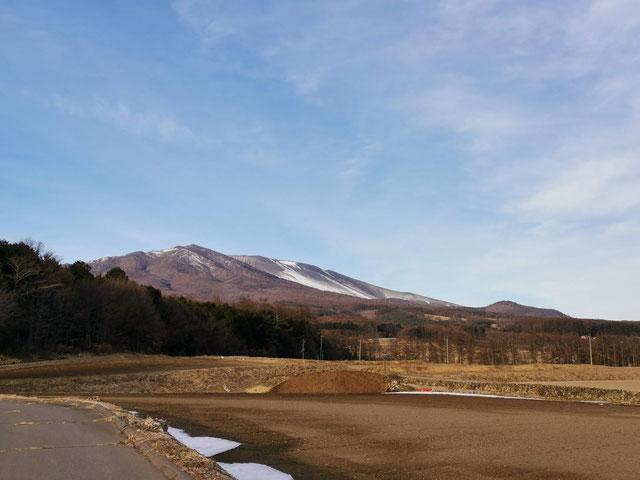 浅間山 小諸附近撮影
