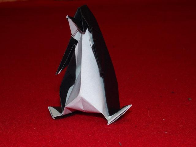 出来上がり・・・ペンギンでした
