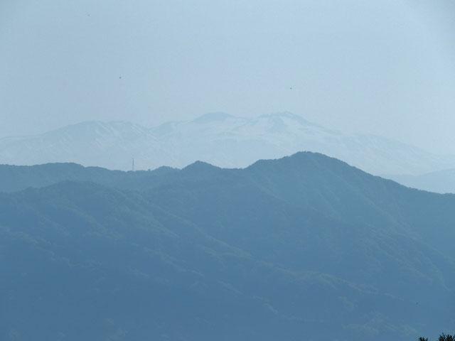 白山がかすかに見えた。写真には写っているだろうか???