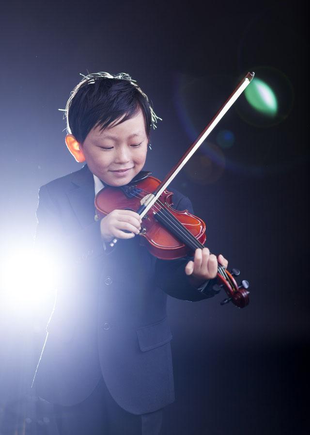 ヴァイオリンの発表会 スタジオ夢物語札幌