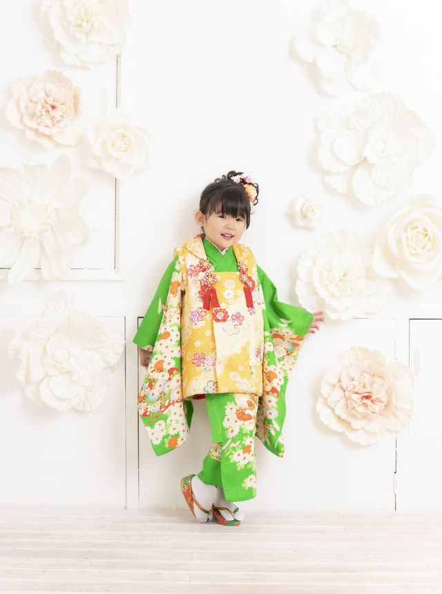 着物 女の子 スタジオ夢物語札幌