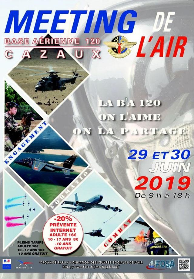 Meeting de l'air Cazaux 2019