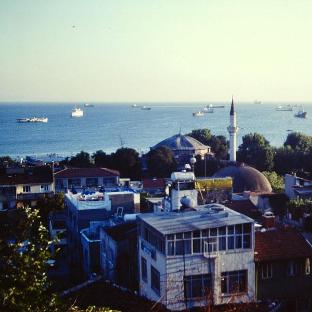 イスタンブール/ボスポラス海峡