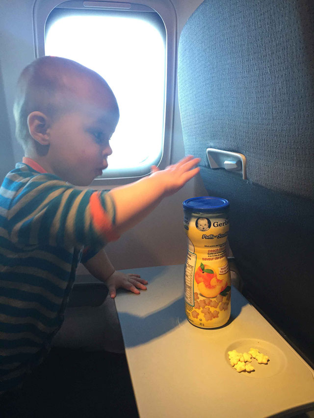 Gerber Puffs for Flights for Baby - 6 to 12 months