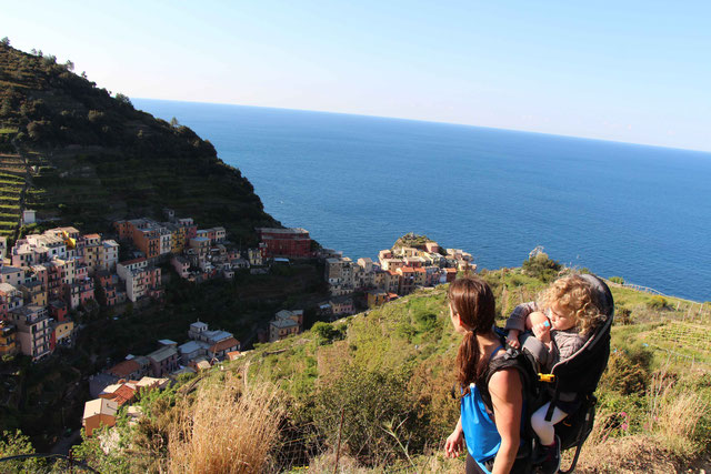 Hiking Cinque Terre with Toddlers