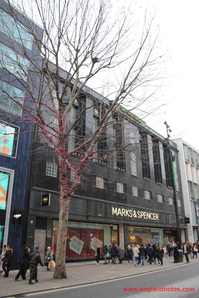 London Shopping Tipps: Die besten Kaufhäuser und Einkaufszentren in London - Marks and Spencer