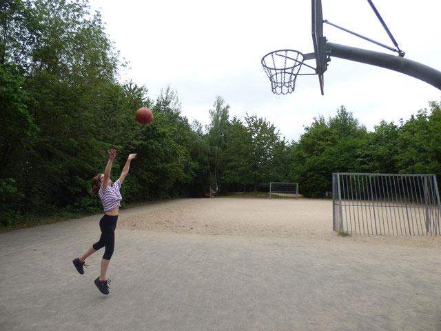 Jugendherberge Lindlar: Sportplatz