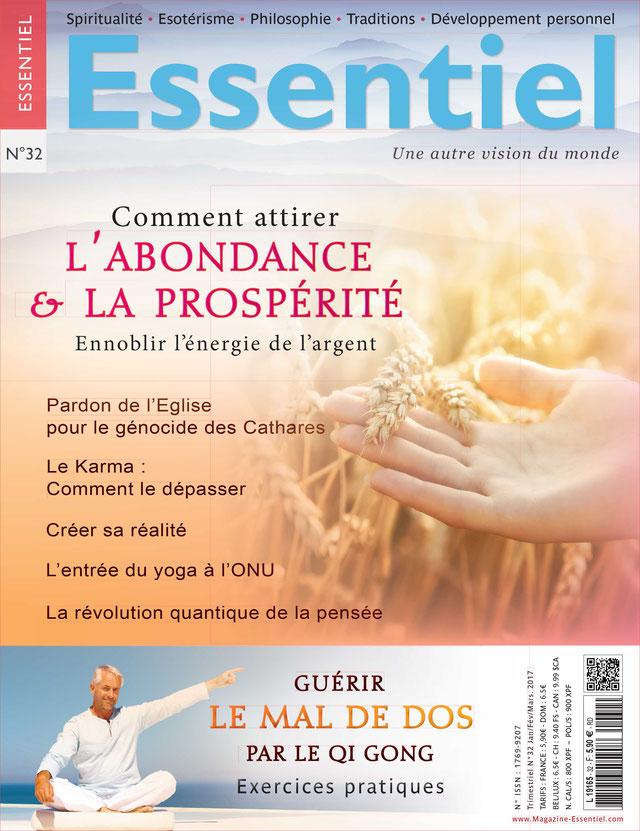 Couverture magazine Essentiel