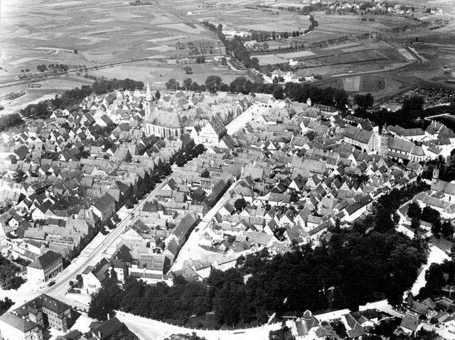 Stadtansicht Neumarkt 1936