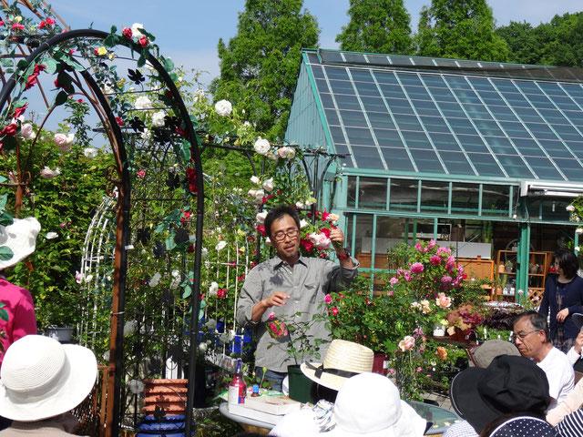 三春ハーブ花ガーデン バラ栽培講座