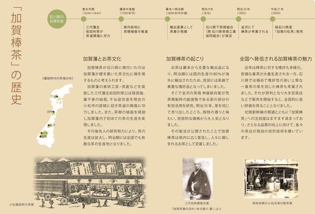加賀棒茶の歴史