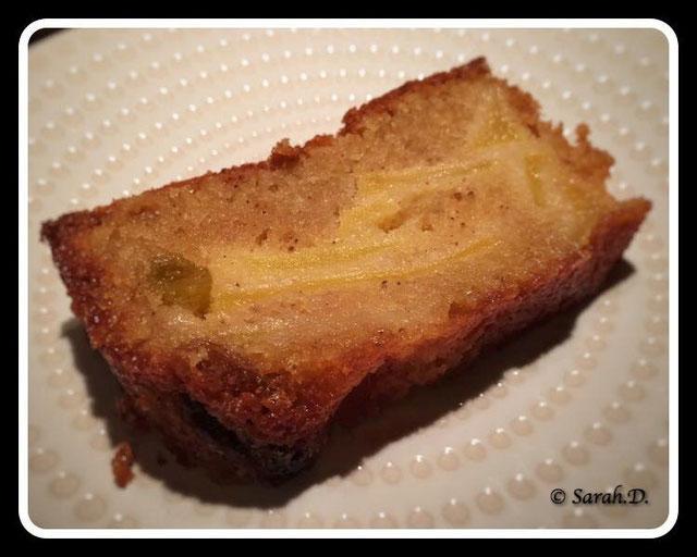 Cake 4 épices.