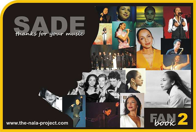 SADE Fan-book 2  ( front cover )