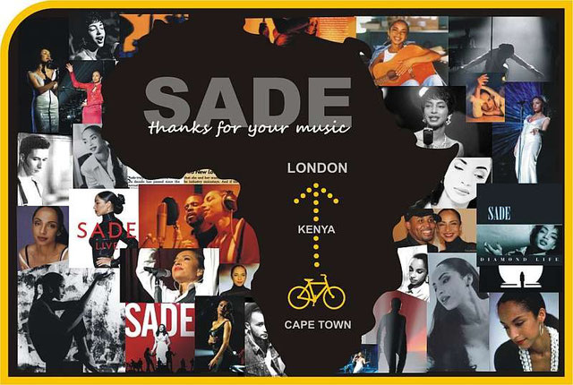 SADE Fan -book 2 ( back cover )