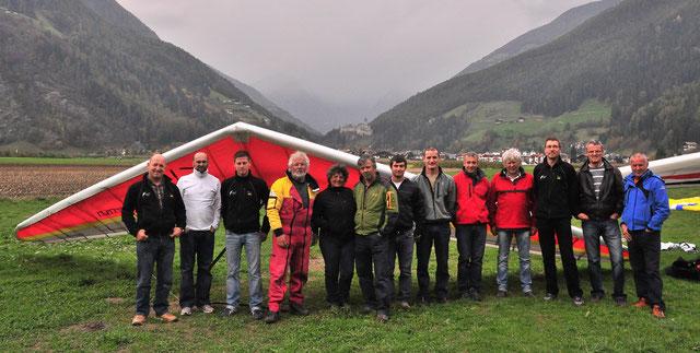Ausgleiten Falkenclub Ahrntal im Oktober 2010