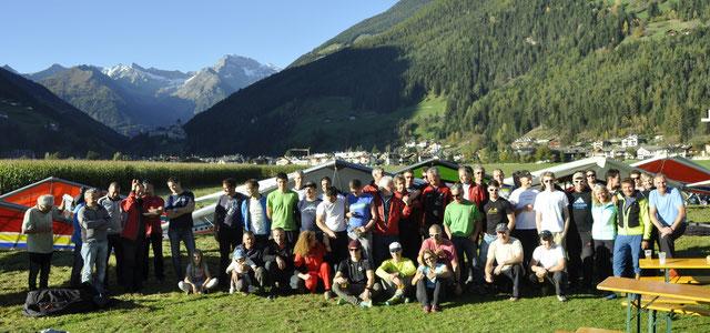 Ausgleiten Falkenclub Ahrntal  im Oktober 2014