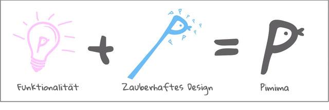Pimima-Formel: Funktionalität plus zauberhaftes Design ist gleich Pimima