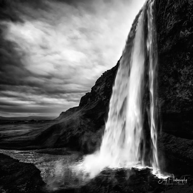 Island, Seljalandsfoss, Wasserfall, 2015, © Silly Photography