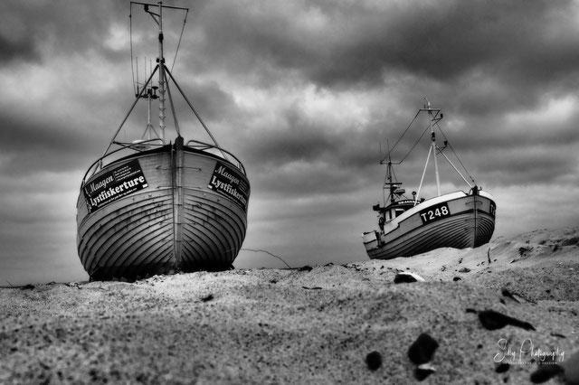 Dänemark / Nordjütland / Vorupør, Fischerboot, 2014, © Silly Photography